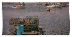 Lobstar Pot Float Beach Sheet