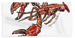 Lobster Beach Sheet