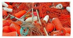 Lobster Season Beach Sheet