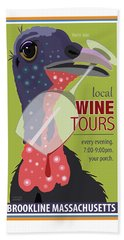 Local Wine Tours Beach Towel