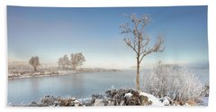 Loch Ba Winter Beach Towel