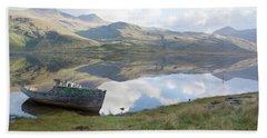Loch Beg Reflects Beach Sheet