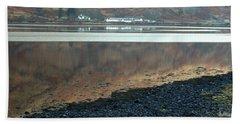 Loch Linnhe Reflection Beach Towel