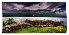 British Isles Countryside Beach Towel