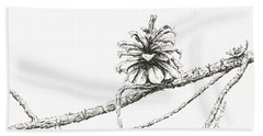 Lodgepole Pine Cone Beach Sheet