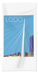 Lodo/blue Beach Towel