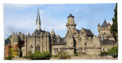 Loewenburg - Lionscastle Near Kassel, Germany Beach Towel