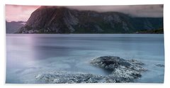 Lofoten Sunset Beach Towel