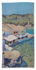 Loggos Pier View Beach Towel