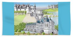Loire Valley Beach Sheet