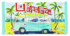 Lollapalooza Beach Towel