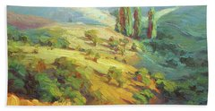 Lombardy Homestead Beach Towel