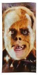 Lon Chaney Sr, As The Phantom Of The Opera Beach Towel