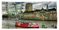 London Eye Beach Sheet