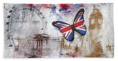 London Iconic Beach Towel