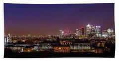 London Panorama Beach Towel by Mariusz Czajkowski