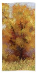 Lone Cottonwood Beach Towel