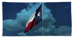 Lone Star Beach Towel by Joan Bertucci