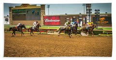 Lone Star Park Grand Prairie Texas Beach Towel
