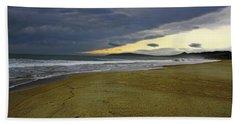 Lonely Beach Beach Towel