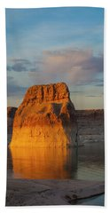 Lonely Rock Beach Towel by David Cote