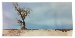 Lonely Sentinel  Beach Towel