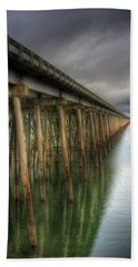 Long Bridge  Beach Towel