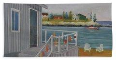 Long Cove View Beach Towel
