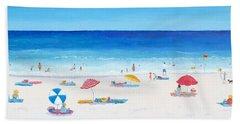 Long Hot Summer Beach Towel by Jan Matson