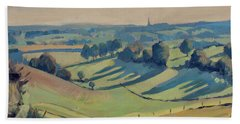 Long Shadows Schweiberg Beach Towel