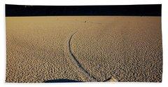 Long Tracks Beach Towel