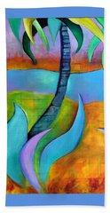 Longboat Key Beach Towel by Elizabeth Fontaine-Barr