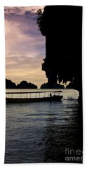 Longboat Sunset Beach Towel