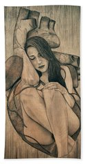 Longing For You Beach Towel