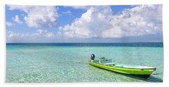 Look At This Beautiful Blue Water Beach Towel