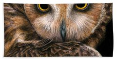 Look Into My Eyes Beach Towel