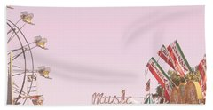 Look Up To See The Music Beach Towel