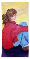 Looking For Hope Beach Towel by Lisa Rose Musselwhite