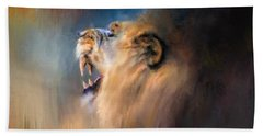 Looking For The Dentist Beach Towel by Jai Johnson