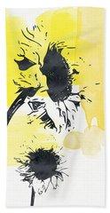Looking Forward- Art By Linda Woods Beach Towel