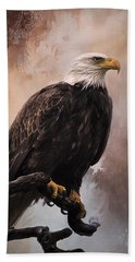 Looking Forward - Eagle Art Beach Towel