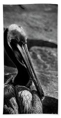 Looking Good B/w Beach Towel by Marvin Spates