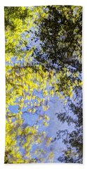 Beach Towel featuring the photograph Looking Up Or Down by Heidi Smith