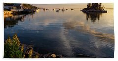 Lookout Point, Harpswell, Maine  -99044-990477 Beach Towel