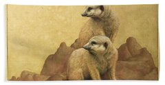 Lookouts Beach Towel by James W Johnson