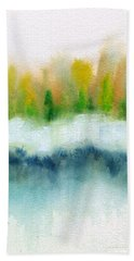 Loose Abstract 3 Beach Sheet by Frank Bright