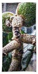Loquat Man Photo Beach Sheet by Gina O'Brien