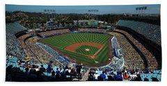 Los Angeles Dodgers Dodgers Stadium Baseball 2043 Beach Sheet