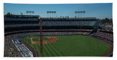 Los Angeles Dodgers Dodgers Stadium Baseball 2063 Beach Sheet