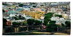 Los Colores De Mi Patria II Beach Towel